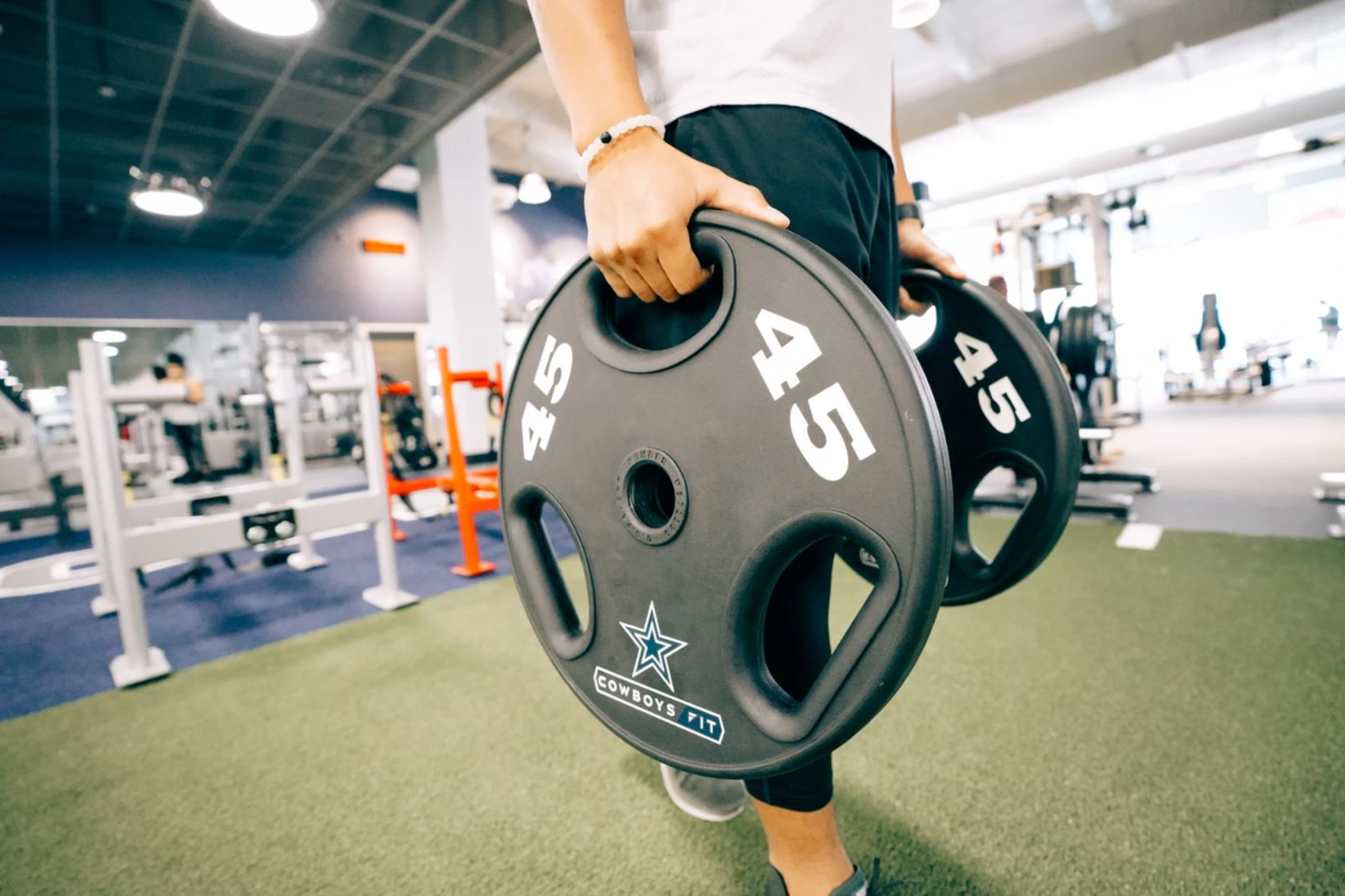 3bd7c187e7319 Cowboys Fit combines the legacy of the Dallas Cowboys, with advanced  technology to track and obtain fitness goals, and a competitive environment  to ...